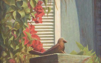 New Painting: Sittin' in the Sun