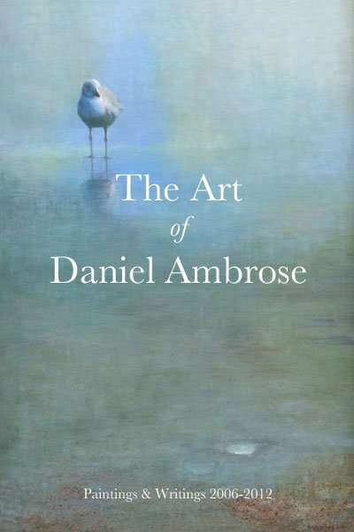 photo of book by artist Daniel Ambrose
