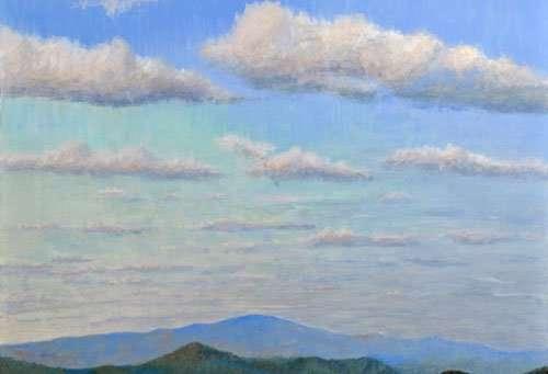 daniel-ambrose-painting-saturday-clouds
