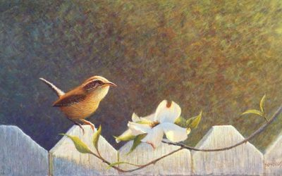 Spring Visitor: A Painting About Respect