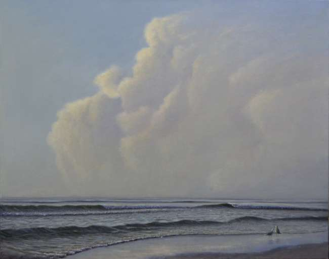 Sescape painting by Daniel Ambrose. Available at Cheryl Newby Gallery